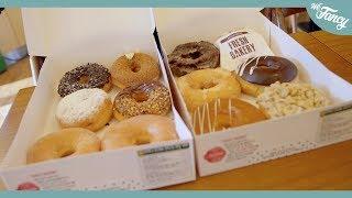 Korean Krispy Kreme Doughnuts