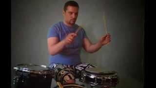 Правильная посадка и постановка рук на барабанах