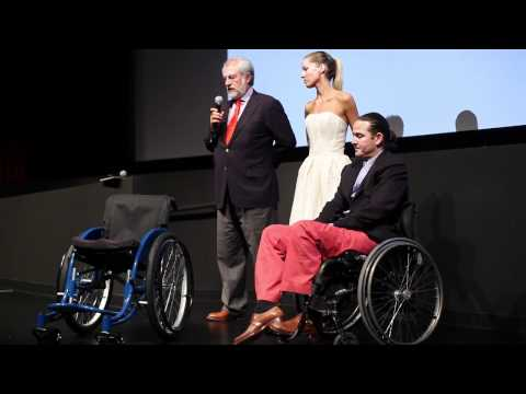 "Rolando Gonzalez-Bunster speaks at NY benefit premiere of ""The Way"" for the Walkabout Foundation"