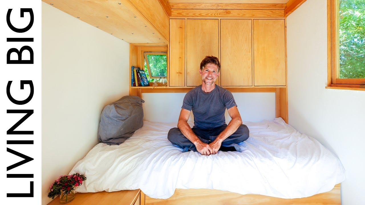 Jay Shafer S Stunning 5 000 Tiny House Youtube