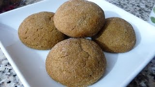 Gingersnaps recipe, easy and delicious dessert