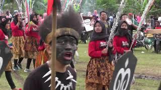 Kirab Budaya warga RW 07 Baran Gunung - Ambarawa 31 Maret 2019