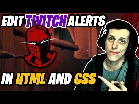 How To Make Twitch Alerts Using HTML And CSS