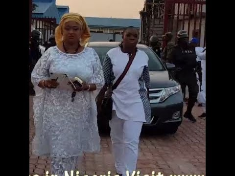 See How Ronke Oshodi Oke & Small Doctor Stormed Pasuma's All White 50th Birthday Party