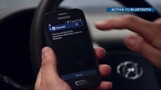 Creta Santa Fe i20 Enlace Bluetooth Android смотреть