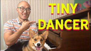 "🔴How to Play ""Tiny Dancer"" by Elton John for Easy Piano (Free Lesson)"