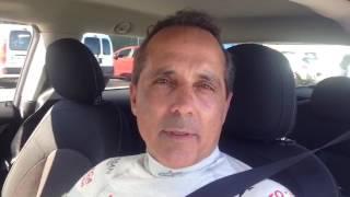 Luis Monzón reconoce que tuvo que trabajar mucho en la puesta a punto del Fiesta R5