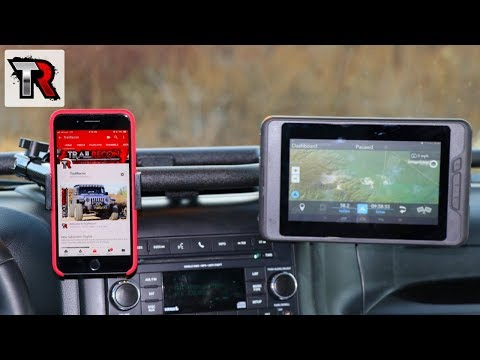 The Best Jeep Phone And GPS Mounting System