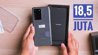 18,5 Juta Dapet Apa? | Unboxing Samsung Galaxy S20 Ultra Versi Indonesia.