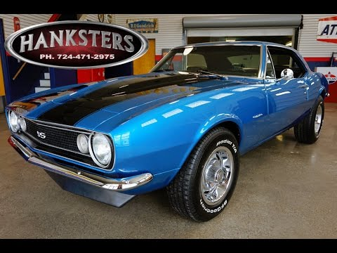 1967 Chevrolet Camaro In Lemans Blue With A 350ci Sbc