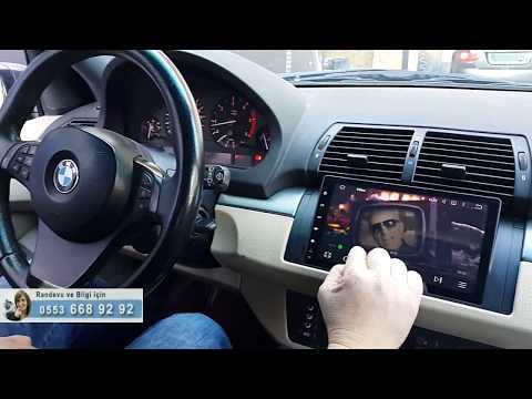 Bmw X5 android multimedya navigasyon sistemi - EMR Garage Ankara