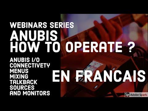 Anubis monitoring - les fonctions et son utilisation – nouveau EQ