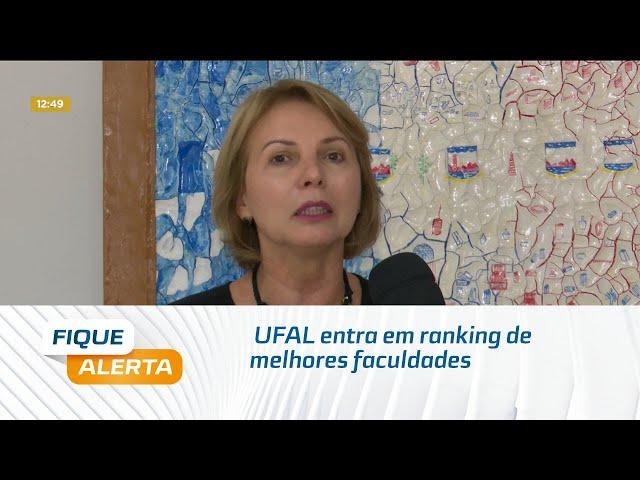 UFAL entra em ranking de melhores faculdades do mundo