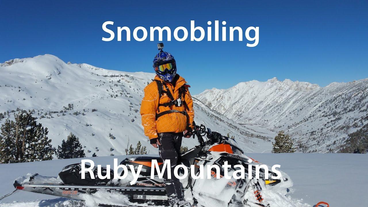 Powder In The Rubies - Snowmobiling - Dec 2015