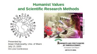 Humanist Values and Scientific Research Methods