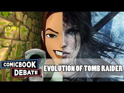 Evolution of Tomb Raider Games in 7 Minutes (2017)
