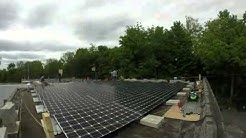 Time Lapse Video of a Commercial Solar Panel Installation by SunBlue Energy in Goshen, NY