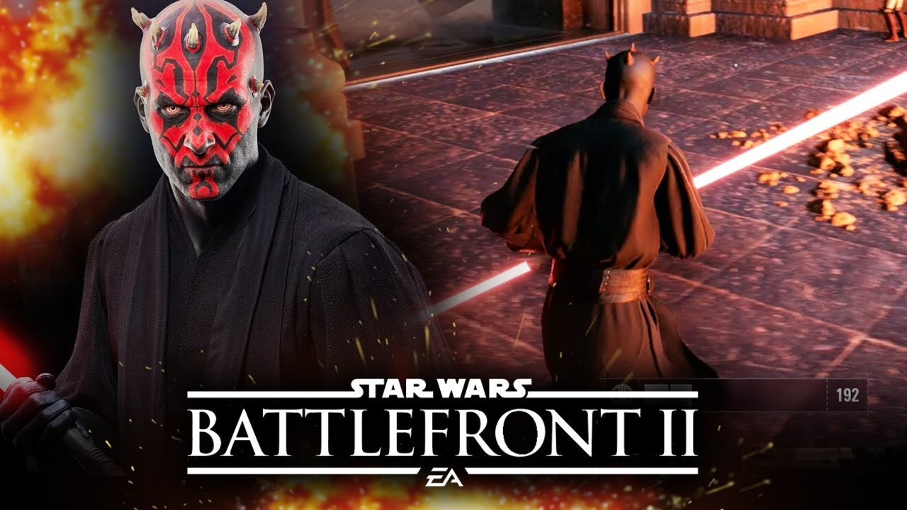 Star Wars Battlefront 2 New DARTH MAUL Gameplay! ALL HEROES! Rey! Jump Troopers! | Star Wars HQ