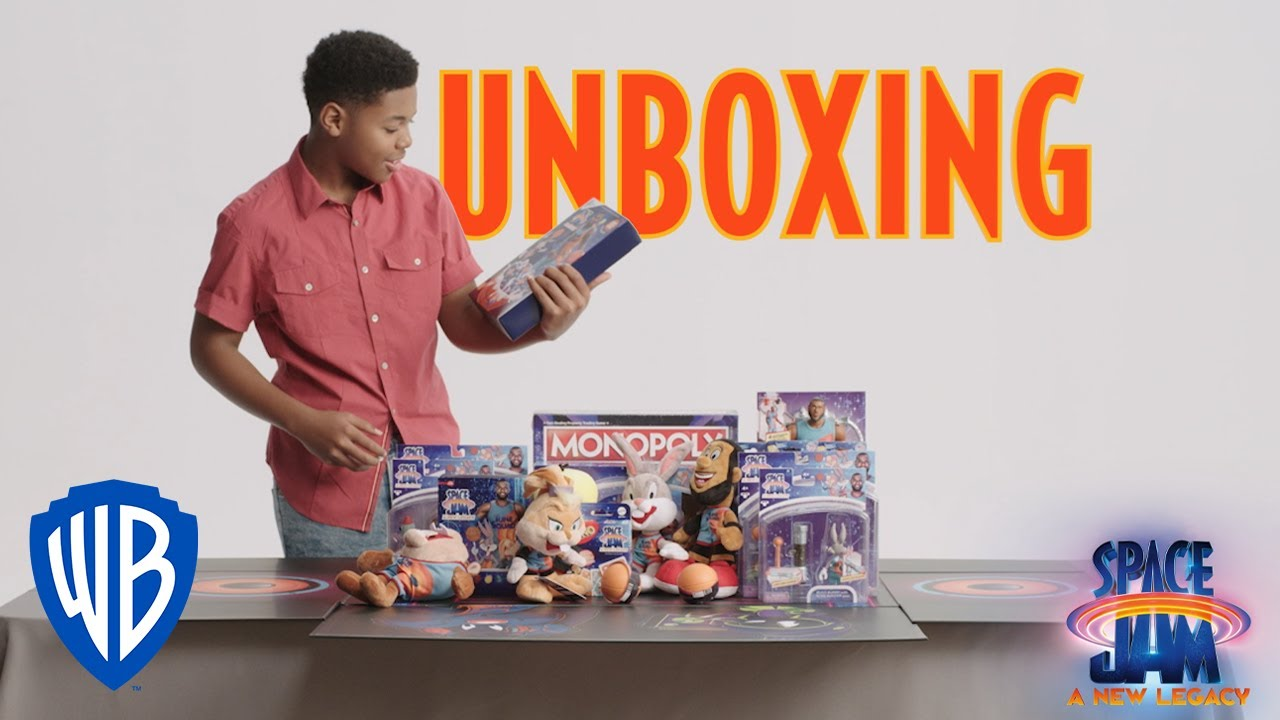 Space Jam: A New Legacy | Unboxing Toys with Cedric Joe | WB Kids