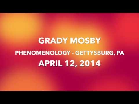 I Died and Came Back From Hell - Grady Mosby Lecture April 12, 2014