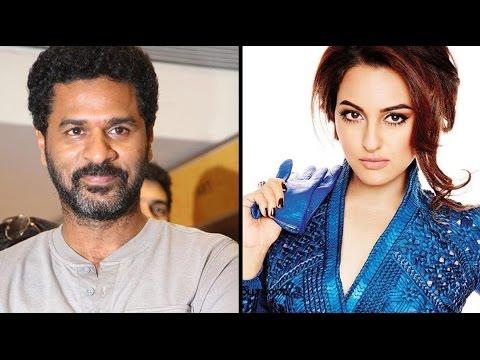 Sonakshi Sinha Upset With Prabhu Deva Over Action Jackson