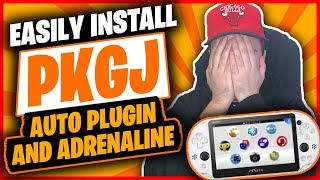 How to Easily Install PKGJ, Auto Plugin (NoNpDrm), Adrenaline on your PS Vita 👍