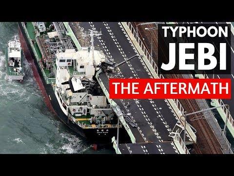 Typhoon Jebi Osaka Japan Aftermath Personal Update | Typhoon 21 | Super Typhoon | Lin Nyunt
