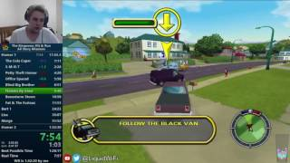 The Simpsons Hit & Run All Story Missions Speedrun in 1:32:04 [World Record]