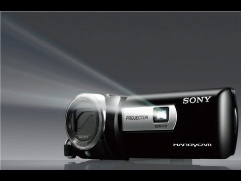 Sony Handycam with projector DCR-PJ6 review & test