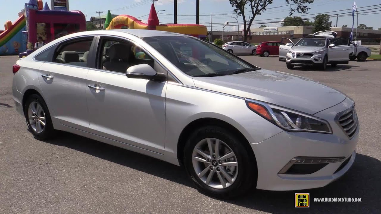 2015 Hyundai Sonata Gls Exterior And Interior Walkaround