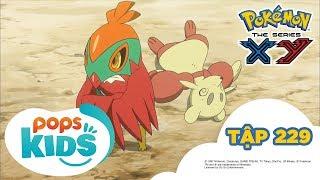 Pokémon Tập 229 - Trận Chiến Nhà Thi Đấu Shara!  - Hoạt Hình Tiếng Việt Pokémon S17 XY