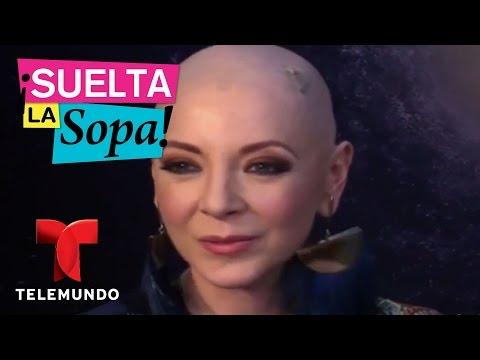 Edith González se muestra sin peluca en su batalla contra el cáncer  Suelta La Sopa  Entre