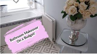 BATHROOM MAKEOVER TOUR   ON A BUDGET   HOME DECOR IDEAS