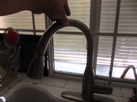 Kitchen Faucet Won T Stay In Place