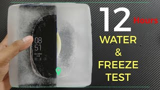 Samsung Galaxy Note 9 , S Pen Water & Ice Freeze Test !