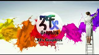 15 Brush Paint Transition Green Screen Effects _ Green Screen Transition Background _ ZFx Footage