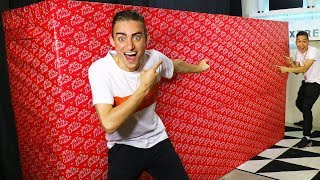 OPENING GIANT CHRISTMAS PRESENT EARLY!!