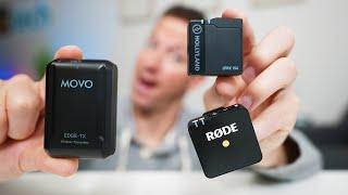 Best Wireless Mic for Video? Rode Wireless GO vs Movo EDGE vs Hollyland Lark 150