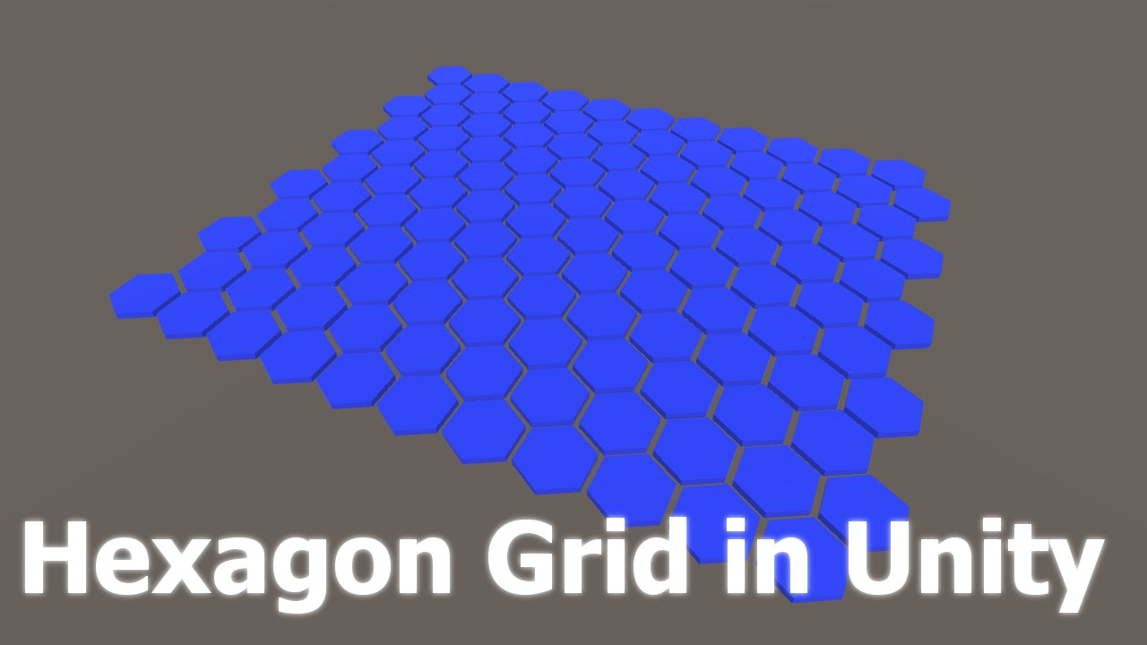 Creating a Hexagon Grid in Unity