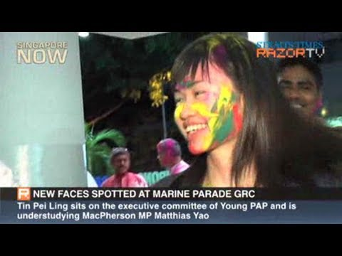 New faces spotted at Marine Parade GRC