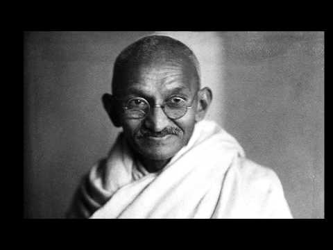 La vida de Mahatma Gandhi