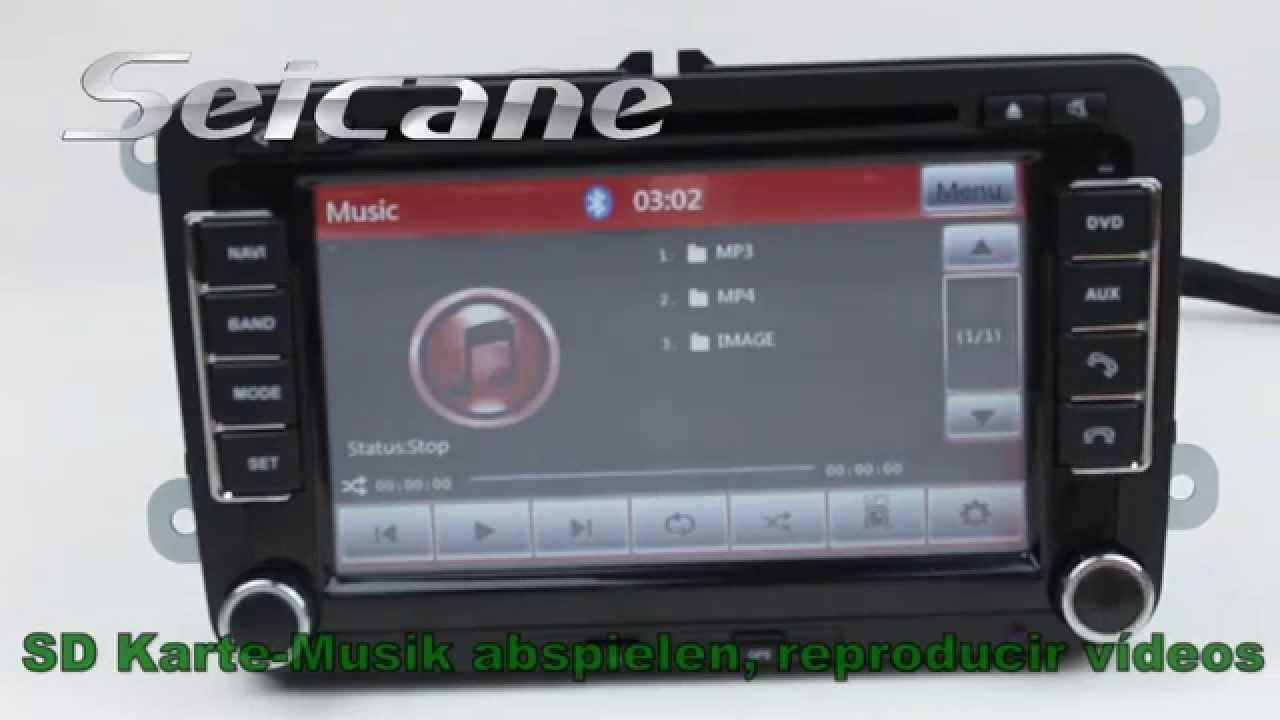 2010-2012 volkswagen w t5 caravelle autoradio multimedia mit gps