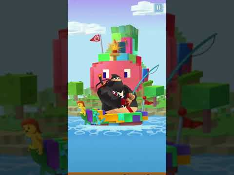Ninja Fishing: Ep 60 (Pixel Island: Upstar Fish And Blue Shell)