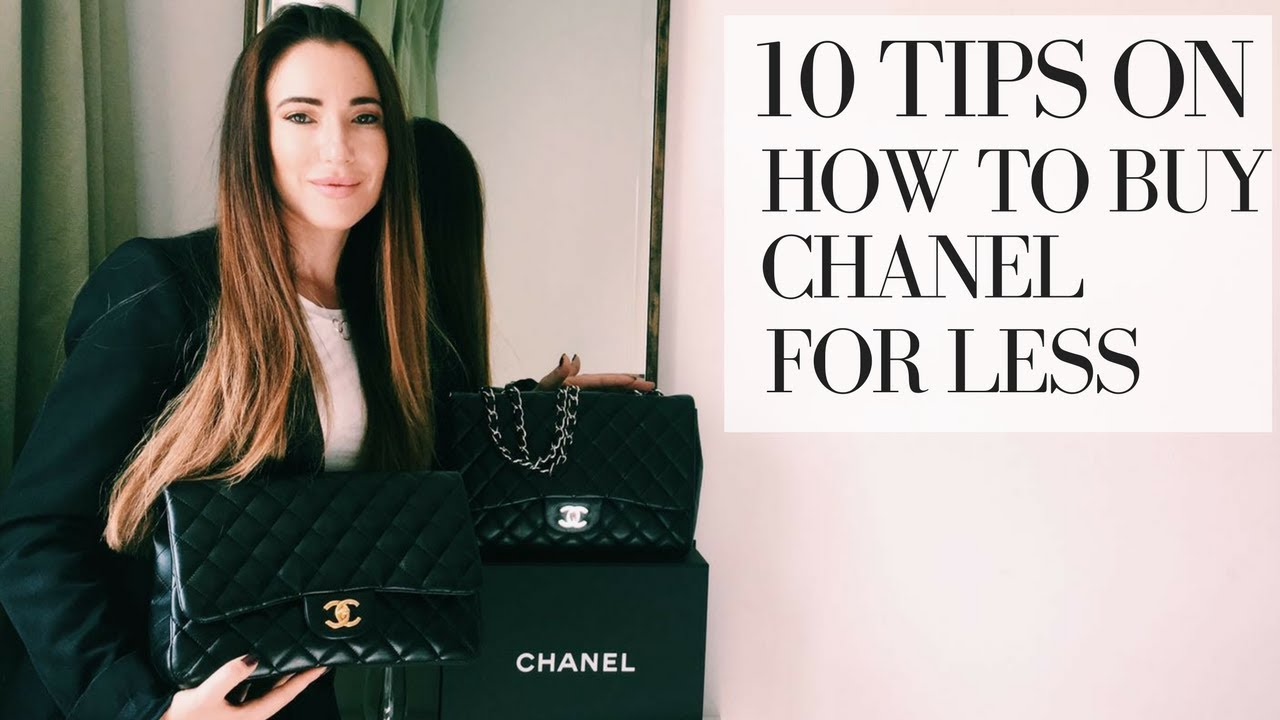 HOW TO BUY A CHANEL BAG FOR LESS  10 TIPS - YouTube d4c96f53fd