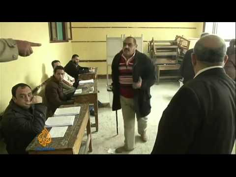 Egypt votes in first day of referendum