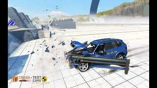 Car Crash Test Driving X5 M3