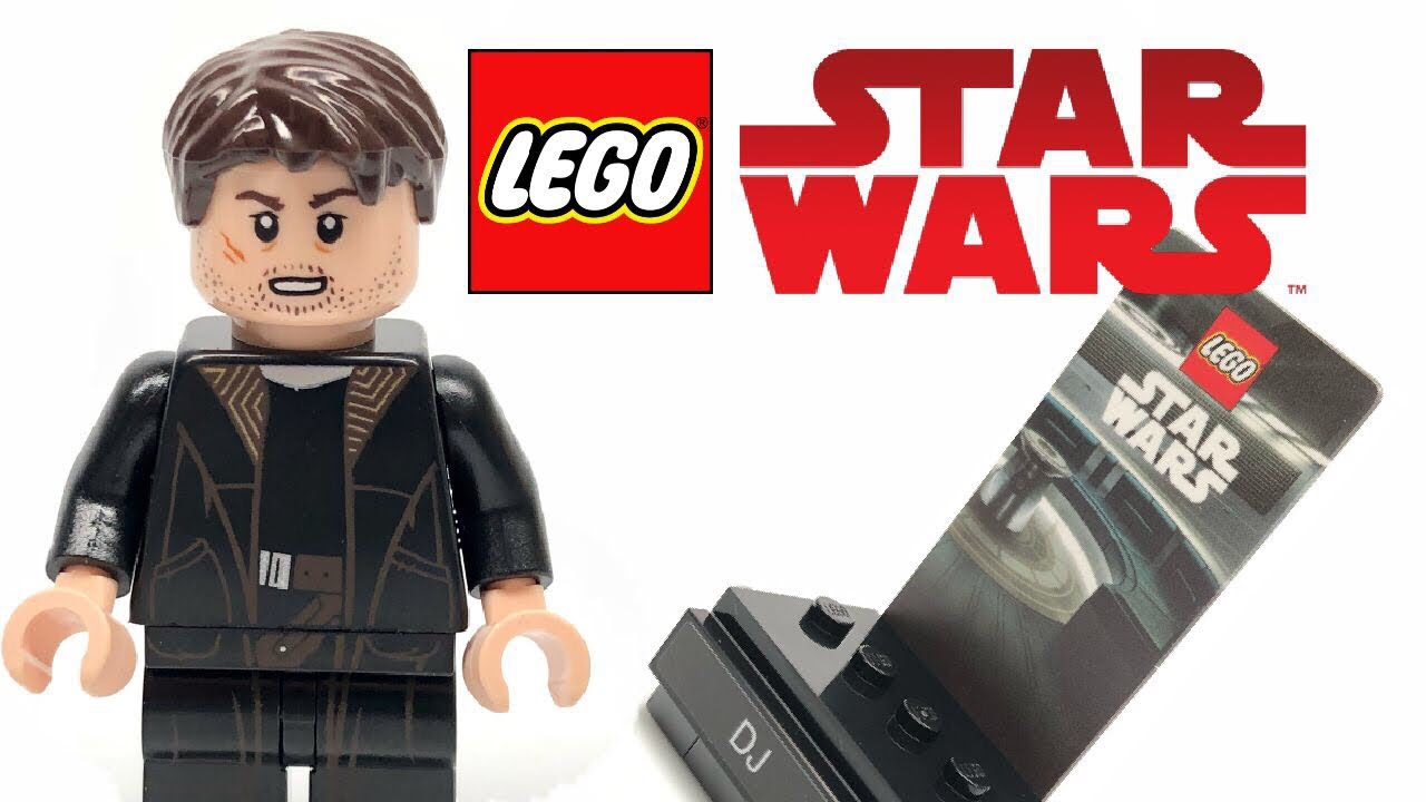 LEGO Star Wars DJ polybag review! - YouTube