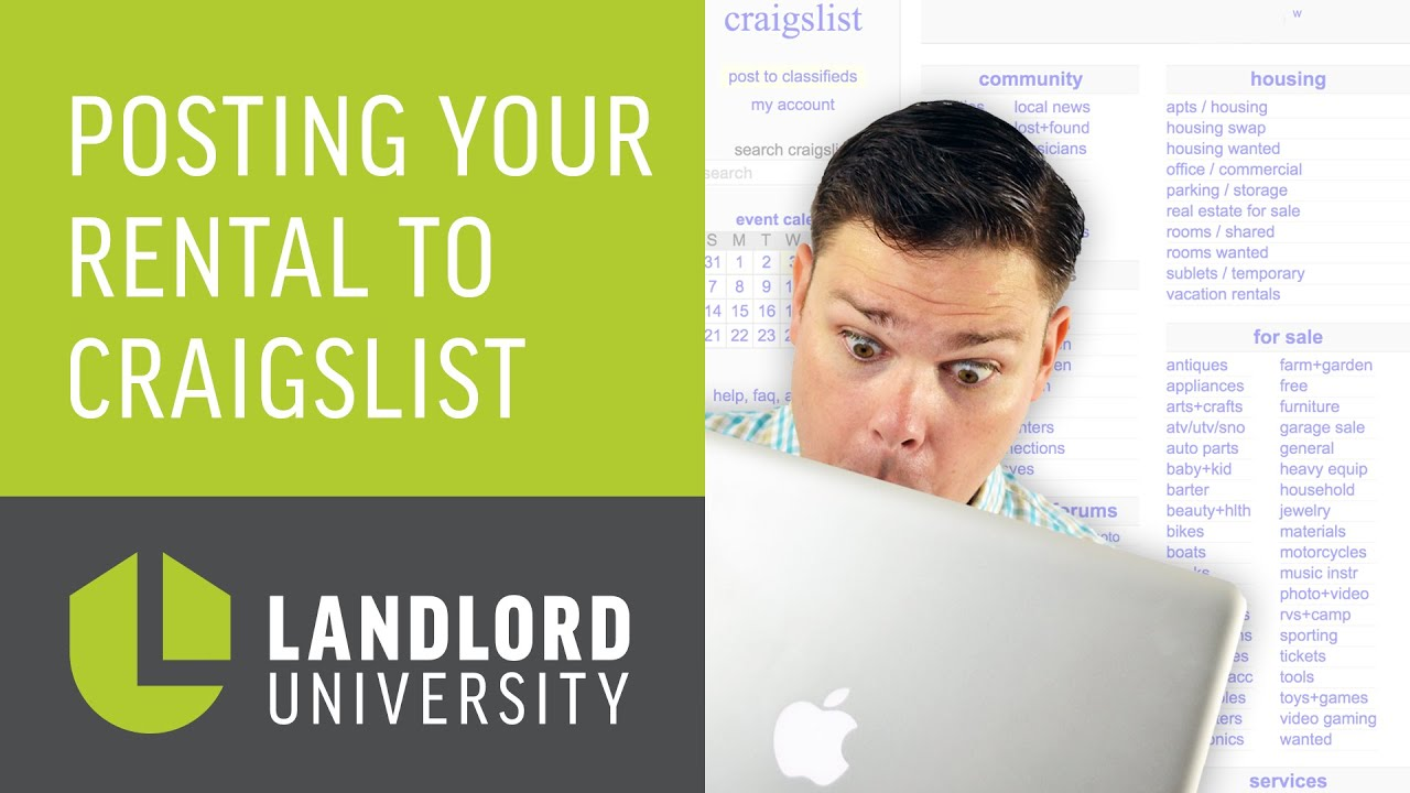 Listing Property on Craigslist: How To Appeal Your Rental To Great Tenants  | Landlord University
