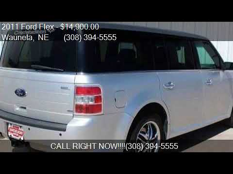 2011 ford flex sel awd 4dr crossover for sale in wauneta ne youtube. Black Bedroom Furniture Sets. Home Design Ideas