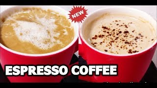 ESPRESSO COFFEE - No Machine - Without Beater | Espresso Coffee By Cooking With Shabana